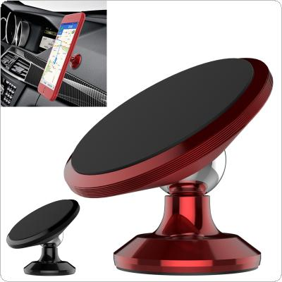 Magnetic Universal Car Phone Holder with Omnidirectional Rotation and 3mm Super Glue for Mobile Phone