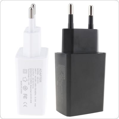 Heat Resistant Universal Travel Mini USB EU Plug Charger 5V 1A for Mobile Phone / Tablet