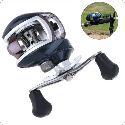 12+1BB High Speed 8.1:1 Gear Ratio Fishing Bait Casting Reel Braking Force 8KG / 17.6LB with Right Left Hand Optional