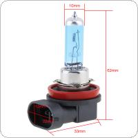 12V H11 100W 5000K White Light Super Bright Car Halogen Lamp Auto Front Headlight Fog Bulb