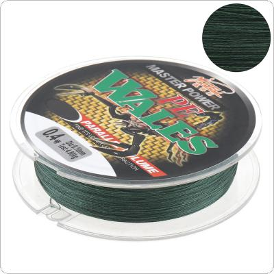 100M 110Yards Green PE Braided Fishing Line 4 Strands 10 12 15 18 28 40 50 60LB Multifilament Fishing Line