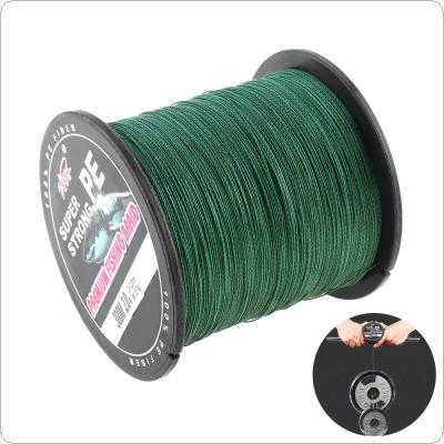 300M 330Yards Green PE Braided Fishing Line 4 Strands 18 28 40 50 70 80 90LB Multifilament Fishing Line