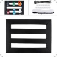 37 x 27cm Guitar Pedal Board Setup Style DIY Guitar Effect Pedalboard with Installation Accessories