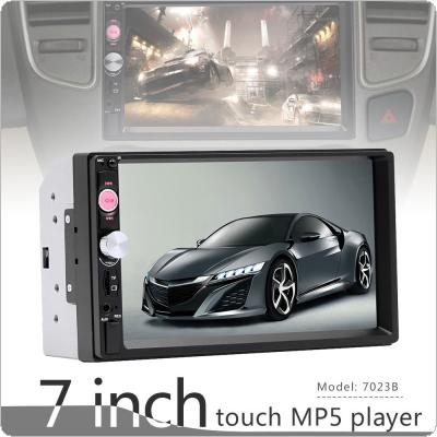 7 Inch 2 DIN Bluetooth In Dash HD Touch Screen Car Video FM Radio Stereo Player Support Aux In / Rear View Camera for Android Mirror Link