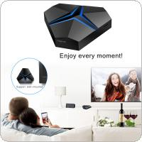 MAGICSEE IRON MAX Amlogic S912 Android 7.1.2 TV BOX with 3GB RAM + 32GB ROM 2.4G + 5.8G WiFi 100Mbps BT4.1 Support 4K H.265