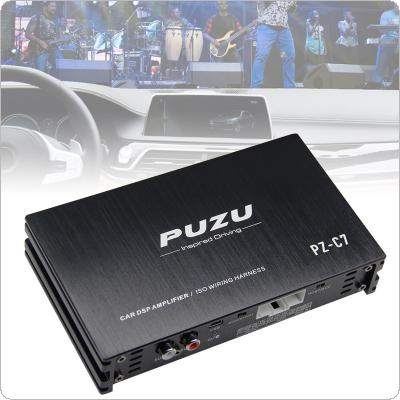 8 Bands 4x150W Car Digital Audio Processor DSP Amplifier with Bluetooth WIFI Functions Support  Computer Phone EQ High Precision Tuning