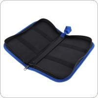 Portable Multifunction Tool Kit Bag with PU Leather Surface Material and Zipper for Maintenance Tool Storage