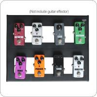 KOKKO 35 x 30cm Detachable Guitar Pedal Board Setup Style DIY Guitar Effect Pedalboard with Bag