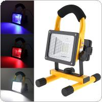 20W 24 LED Flood Light Portable Outdoor Waterproof IP65 Emergency Lamp Work Light for Camping / Vehicle Signal Warning