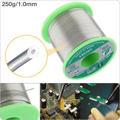250g 1.0mm 99.7% Sn 0.03% Cu Environmental Friendly Lead-free Rosin Core Solder Wire with Flux and Low Melting Point for Electric Soldering Iron