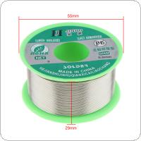 100g 0.5mm 99.7% Sn 0.03% Cu Environmental Friendly Lead-free Rosin Core Solder Wire with Flux and Low Melting Point for Electric Soldering Iron