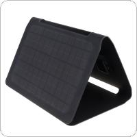 Solar Charger 20W Solar Panel with Dual USB Port Waterproof Foldable Camping Travel Charger Fit for iPhone / iPad / Galaxy