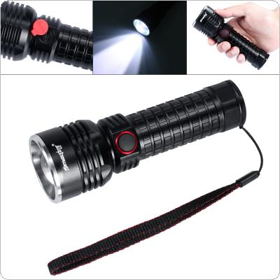 R09 500 Lumens T6 Aluminum Alloy Glare LED Flashlight with Rotating Focus and USB Charge for Outdoor Activities / Daily Life