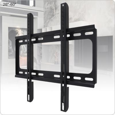 Universal 45KG  1.2mm Cold Ligation Board TV Wall Mount Bracket Flat Panel TV Frame  for 26 - 60 Inch LCD LED Monitor Flat Pan