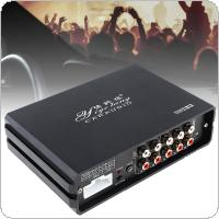 31 Bands 4 x 80W Car Digital Audio Processor DSP Amplifier with Bluetooth Functions Support Computer / Android Phone EQ High Precision Tuning