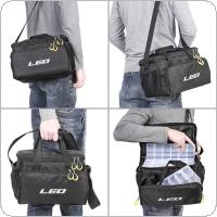 Multifunctional Fishing Bag Waterproof Oxford Cloth Waist Shoulder Messenger Fishing Tackle Reel Lure Camera Storage Bag