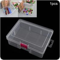 Transparent Portable No Lattice PP Plastic Hold All Storage Box for Tools / Home