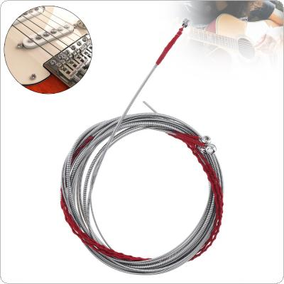 4pcs/set Electronic Bass Steel Strings Core Silver-Plated Copper Alloy 0.43-0.71 Inch