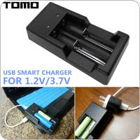 TOMO V6 Multifunctional 3.7V / 1.2v Smart Charger with Micro-USB Interface for AA / AAA / 18650 / 16340 / 14500 / 18500 Battery