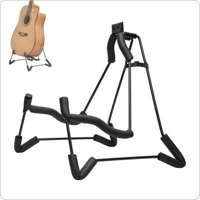Aluminum Alloy Folding Guitar Stand Concise Style Soft Sponge Steel Frame Holder for Acoustic Classic Guitar