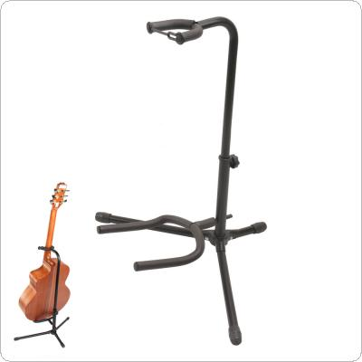 Aluminum Alloy Floor Guitar Stand with Stable Tripod Holder for Acoustic Electric Guitar Bass