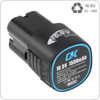 16.8-18V 4 x 1500mAh Universal Li-ion Rechargeable Battery with Disconnect Button for Electric Drill / Electric Screwdriver