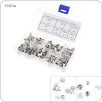 150pcs M4 Set Screw Kit for Album Binding,Books Nails,Desk Calendar Screws