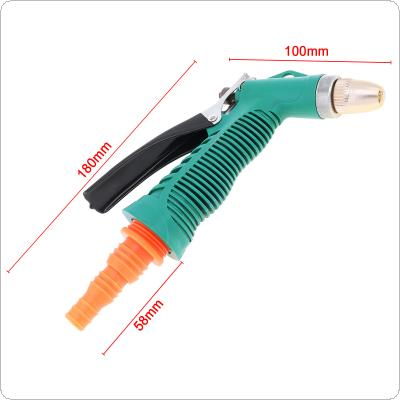 Adjustable Nozzle Plastic Garden Water Gun for Garden Plant Watering or Scouring Car