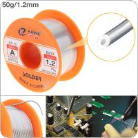 63/37 50g 1.2mm No Clean Rosin Core Solder Tin Wire Reel with 2% Flux and Low Melting Point for Electric Soldering Iron