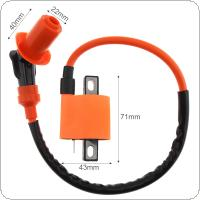 52CM Orange Performance Racing Ignition Coil for Motocross ATV CG125CC / C100 / JOG100
