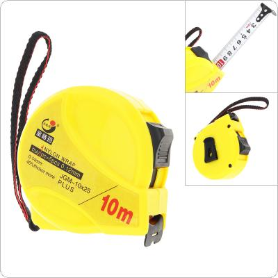 10m Retractable Measuring Tools Double Side Steel Tape Measure Flexible Woodworking Tools