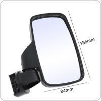 "2pcs 20.9CM UTV Side View Mirrors Side Mirror with 1.75"" and 2"" Mounts with Shock-Proof Rubber Pad for UTV General Model"