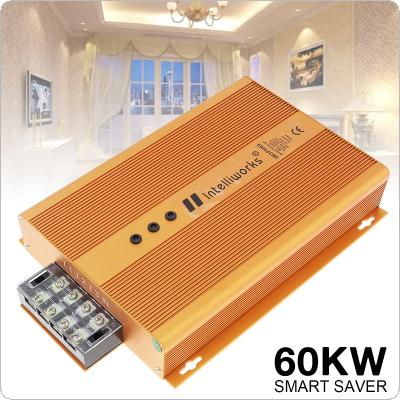 Gold 60000W 90-450V Intelligent Electricity Saving Box with Three Phase Industrial Power Saving for Chemical Industry / Food Processing / Business Enterprise