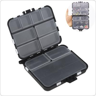 Double Sided 26 Activity Compartments Carp Fishing Tackle Box for Fishing Hook Swivel Ring Lures and Accessories Storage Case
