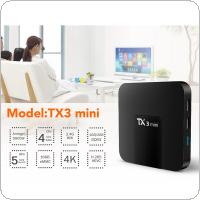 TX3 mini Android 7.1 Smart TV BOX 1GB 16GB Amlogic S905W Quad Core Set top box H.265 4K WiFi Media Player