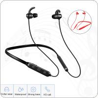 Bluetooth Earphone Built-in Mic Wireless Lightweight Neckband Sport Headphone Earbuds Stereo Auricle for phone
