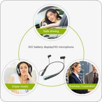 Bluetooth Headsets Wireless Magnetic Headphone Neckband Stereo Earphone with Microphone for iPhone7 Android