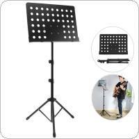 Aluminum Alloy Thickening Music Stand Tripod Stand Holder Height Adjustable