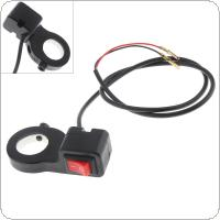 Motorcycle Accessories 22MM Steering Wheel Universal Headlight Switch for Motorcycles / Scooters / ATV