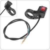 Motorcycle Accessories 22MM 3 Speed Module Switch for Electric Bicycle / Scooter / Motorcycle