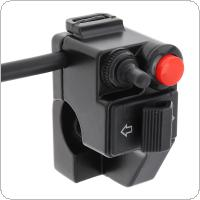 Motorcycle Accessories 22MM Tri Function Speaker / Steering Headlight / Flameout Switch for Motorcycle General