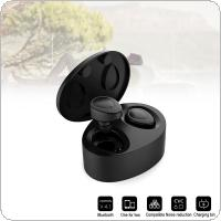 TWS K2 HD Bluetooth V4.2 EDR Earphone Mini Sports Headphones with Bilateral Stereo Sound and Automatic Matching Fit for Air pods  /  Iphone / Smart Phone