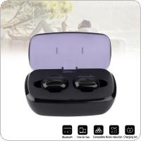 TWS K8 Bluetooth V4.2 EDR Earphone Mini Sports Headphones with Bilateral Stereo Sound and Automatic Matching Fit for Air pods  /  Iphone / All Smart Phone