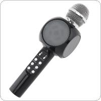 1816 Mobile Phone Wireless Karaoke Microphone Multicolored Bluetooth Microphone for Musical Instrument / Computer / Stage / Conference