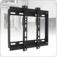 Universal 25KG Fixed type TV Wall Mount Bracket Flat Panel TV Frame for 14 - 42 Inch LCD LED Monitor