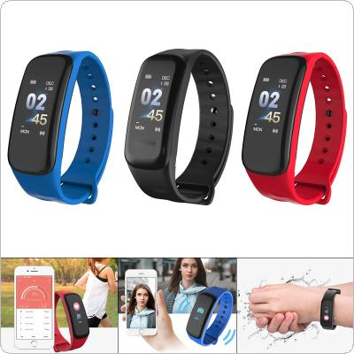 B1 Plus Smart Wristband  IP68 Waterproof with Heart Rate and Blood Pressure Message Reminder for MIUI / iOS / Android / Baidu Cloud Engine OS