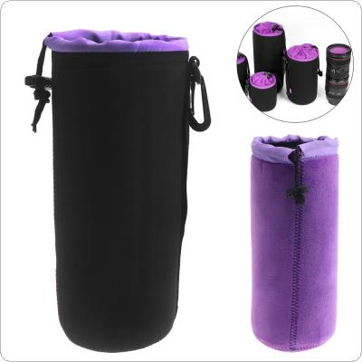 Extra Large Universal SLR Camera Thick Camera Drawstring Lens Protective Bag with Chain Handle