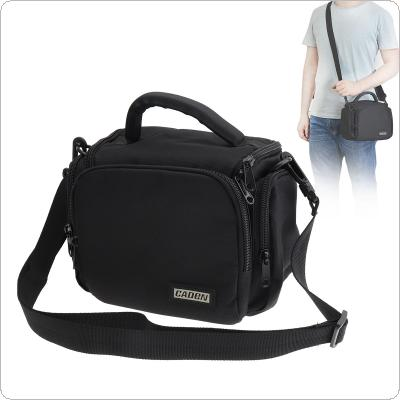 D11 Black Waterproof Portable Handbag/Shoulder Bag Case for SLR Camera