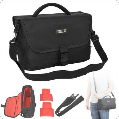 D12 Black Waterproof Portable Handbag/Shoulder Bag Case for SLR Camera