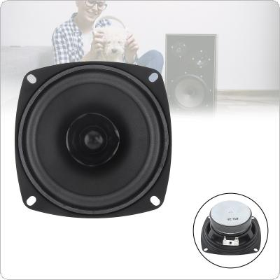 4 Inch 15W Portable Tweeter Full Frequency Speaker Rubber Midrange Woofer for Outdoors / Motorcycle